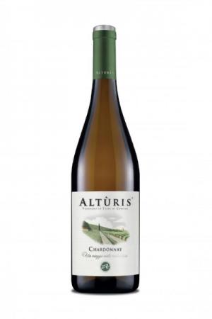Bottiglia di Chardonnay Altùris del Ristorante Mangio Roma