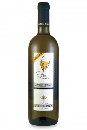 Bottiglia di Gewurztraminer di Cantina Aldeno del Ristorante Mangio Roma