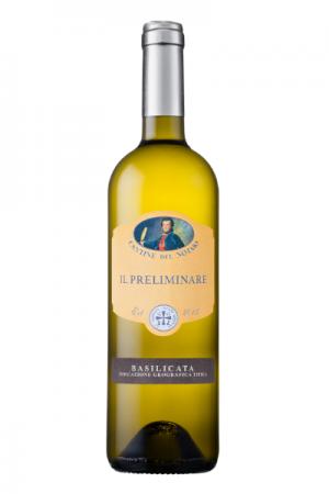 Una bottiglia di Vino Bianco Il Preliminare di Ristorante Mangio Roma
