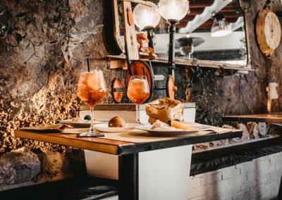 Un Tavolo di Ristorante Mangio Roma