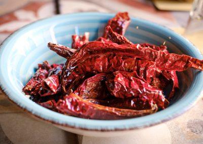 Un Piatto di peperoni cruschi fritti di Ristorante Mangio Roma