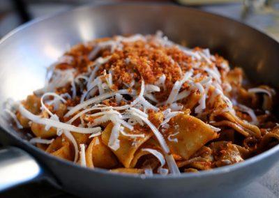 Piatto di Pappardelle Lucana di Ristorante Mangio Roma